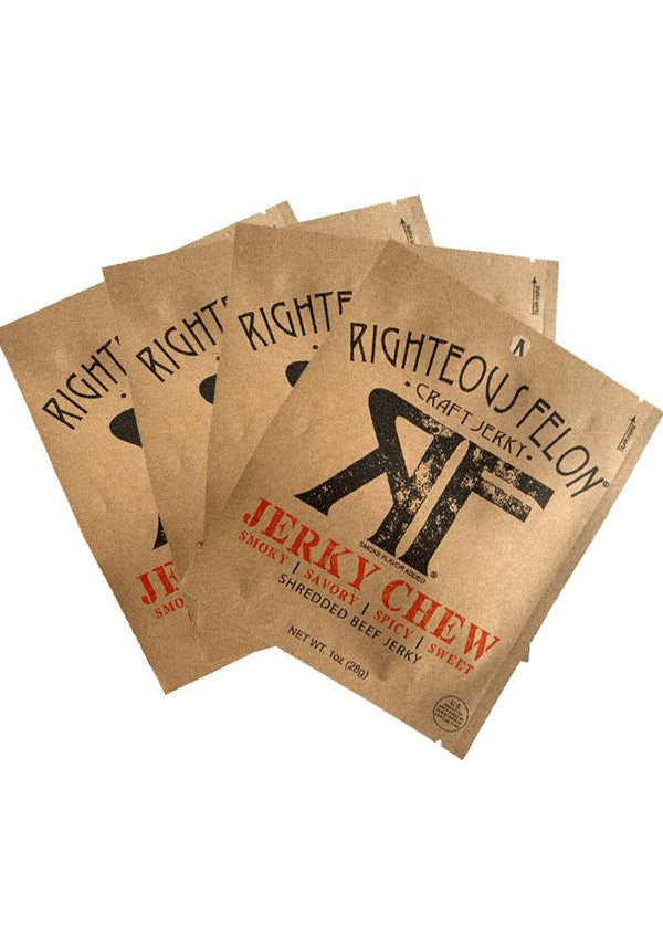 Righteous Felon Craft Jerky  - SHREDDED JERKY CHEW