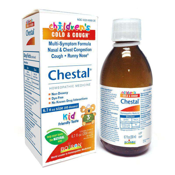 Boiron ~ Chestal Children's Cold & Cough Syrup