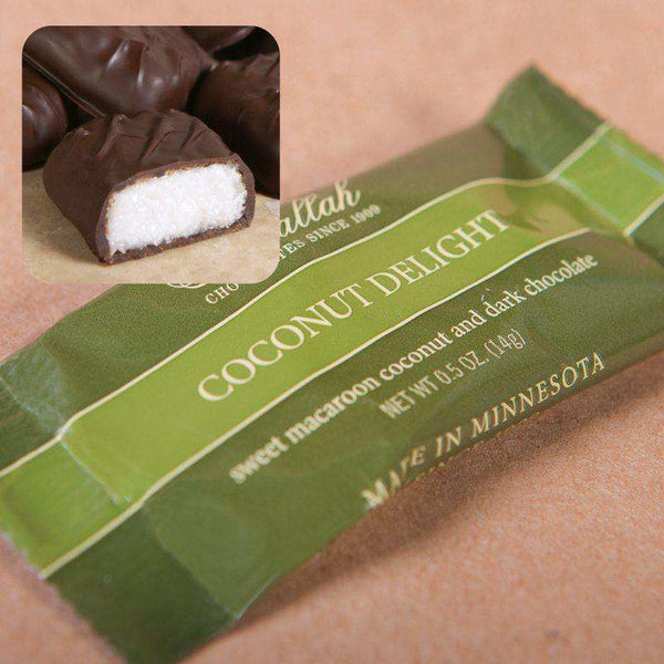 Abdallah Chocolate ~ 10 Piece Coconut Delights