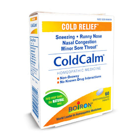 Boiron ~ Coldcalm Tablets