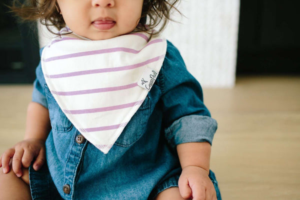 Copper Pearl | Modern Bandana Bibs 4 Pack ~ Morgan