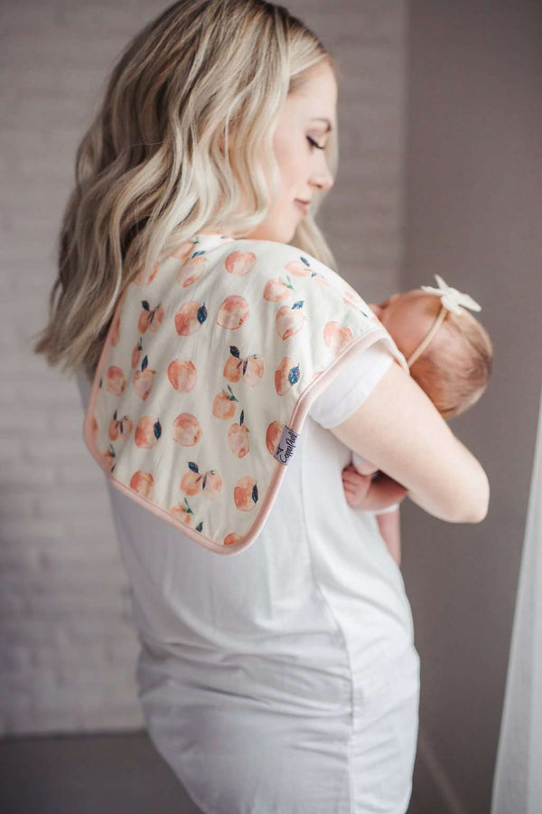 Copper Pearl | Premium Burp Cloth 3 Pack Set ~ Morgan