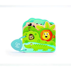 Hape | Baby's Wild Animal Book
