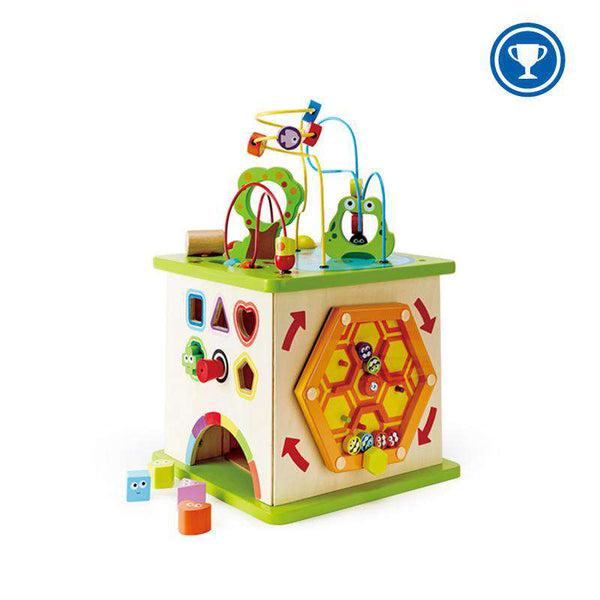 Hape | Country Critters Play Cube