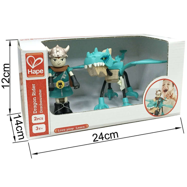 Hape | Dragon Tamer Play Figures