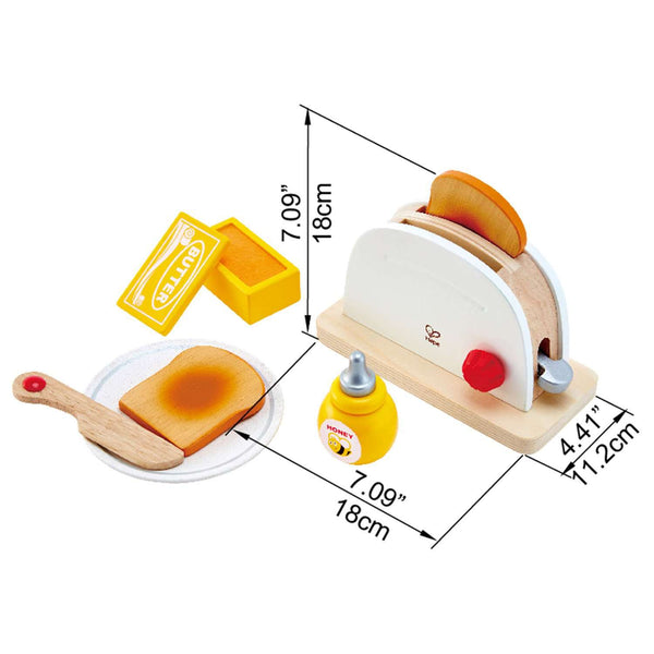 Hape | Pop Up Toaster Set