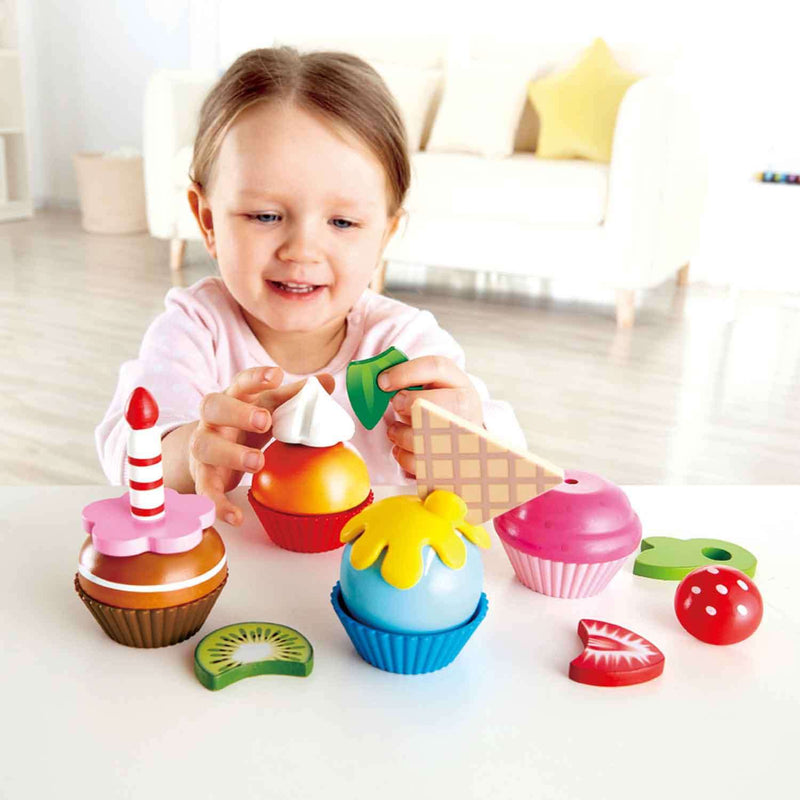 Hape | Wooden Food | Cupcakes