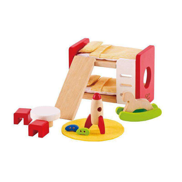 Hape | Dollhouse Additions ~ Children's room