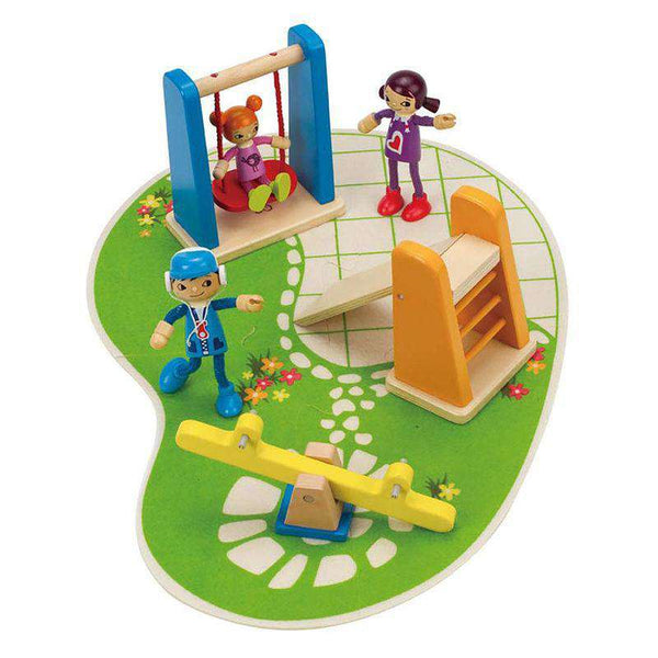 Hape | Dollhouse Additions ~ Playground
