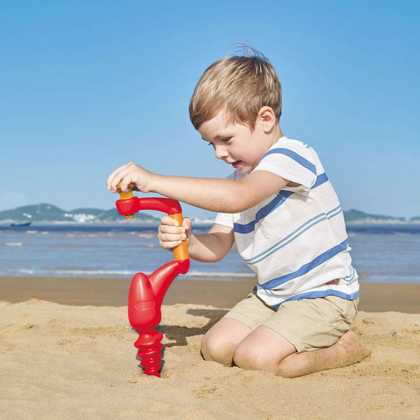 Hape | Beach Sand Driller - Red