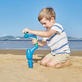 Hape | Beach Sand Driller - Blue