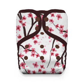Thirsties Sakura ~ One Size Pockets (8-40lbs)