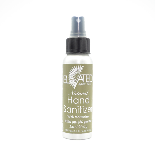 Elevated | Natural Hand Sanitizer (Earl Gray Tea)