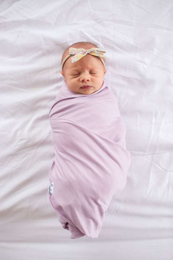 Copper Pearl | Knit Swaddle Blanket  ~ Lily
