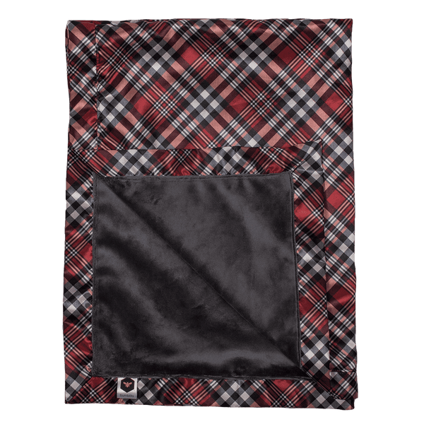 Bumblito | Baby Bee Luxe Blanket ~ Yule Love This Plaid