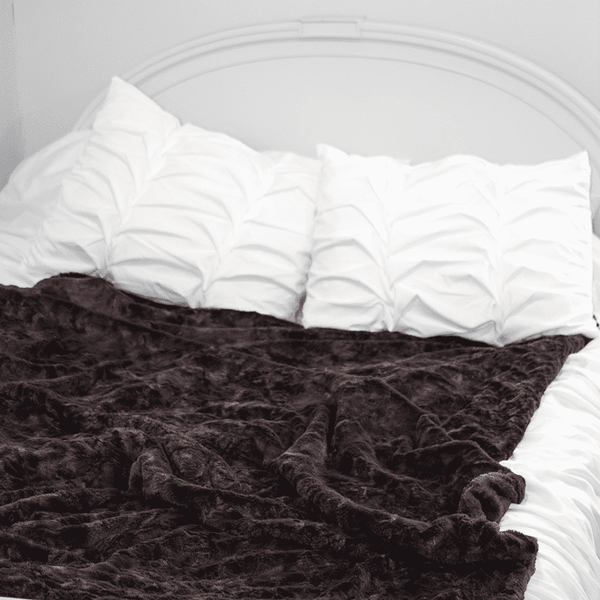 Bumblito | Everyday Bee Luxe Blanket Plush ~ Pewter
