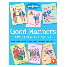 Eeboo | Good Manners Conversation Cards