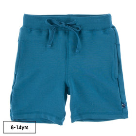Kickee Pants Solid Fleece Sport Shorts ~ Seaport