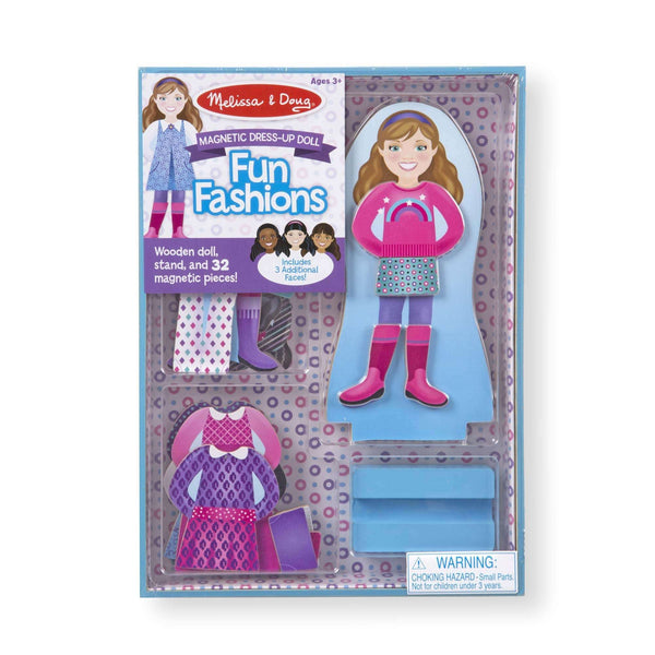 Melissa & Doug | Fun Fashions Magnetic Dress Up