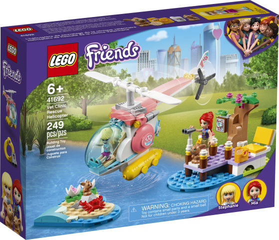 Lego | Friends ~ Vet Clinic Rescue Helicopter