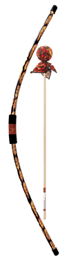 Two Bros Bows |  Archery Set (2 arrows + bow + target) ~ Flame