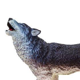 Safari LTD | Wild Safari North American Wildlife ~ HOWLING GRAY WOLF