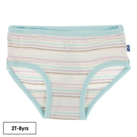 Kickee Pants Girl Underwear ~ Cupcake Stripe