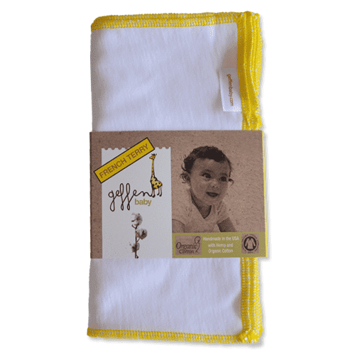 Geffen Baby Wipes | Hemp/Organic Cotton French Terry