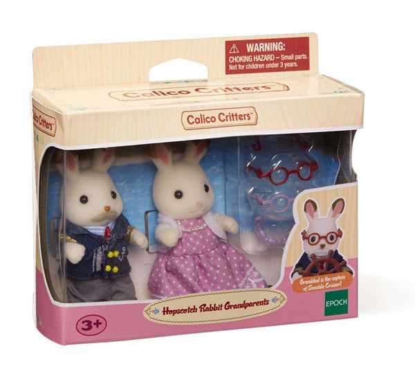 Calico Critters | Families ~ Hopscotch Rabbit Grandparents