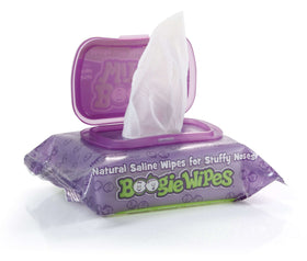 Boogie Wipes ~ Grape Scent 30 Count