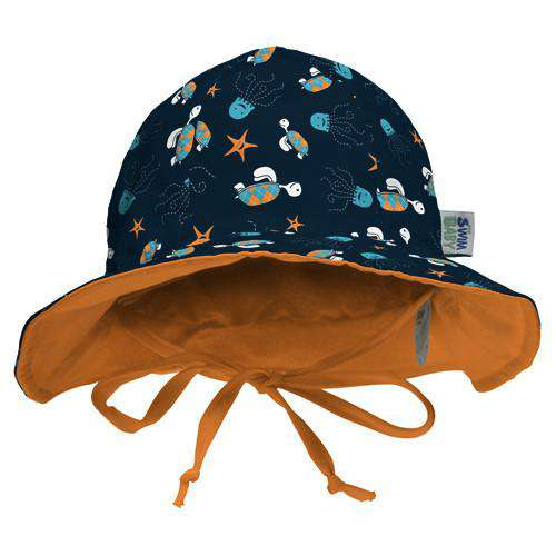 My Swim Baby Hat | Navy Sea Friends