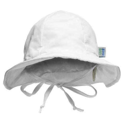 My Swim Baby Hat | White