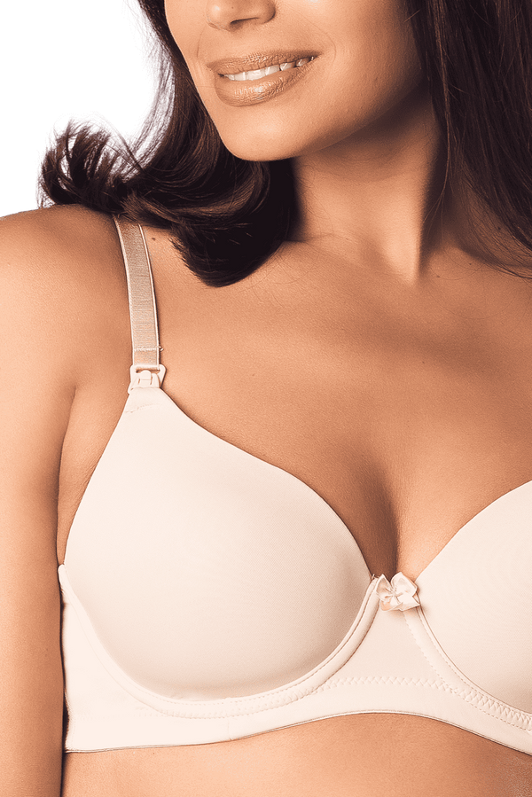 Hot Milk | Forever Yours Contour Nursing Bra ~ Nude