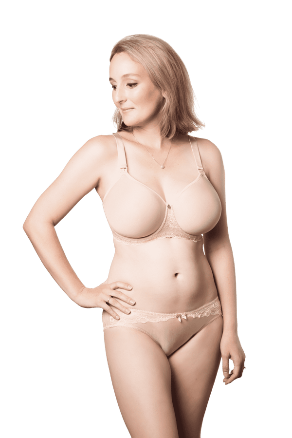 Hot Milk | Obsession Contour Nursing Bra ~ Nude