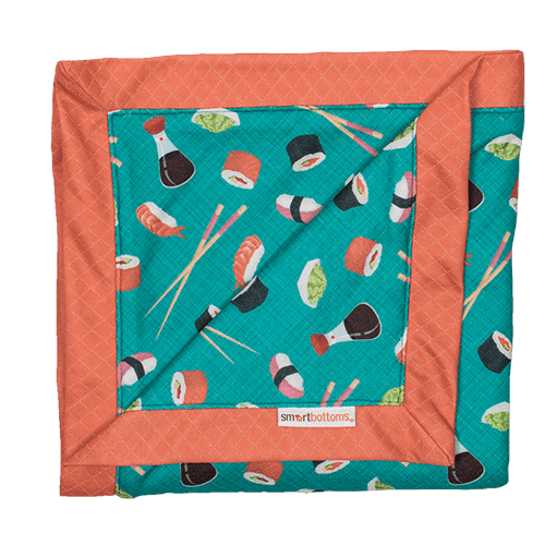 Smart Bottoms Snuggle Blanket ~ You're My Soy Mate