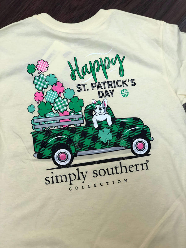 Simply Southern | Youth St Patty's Day ~ Lucky Dog
