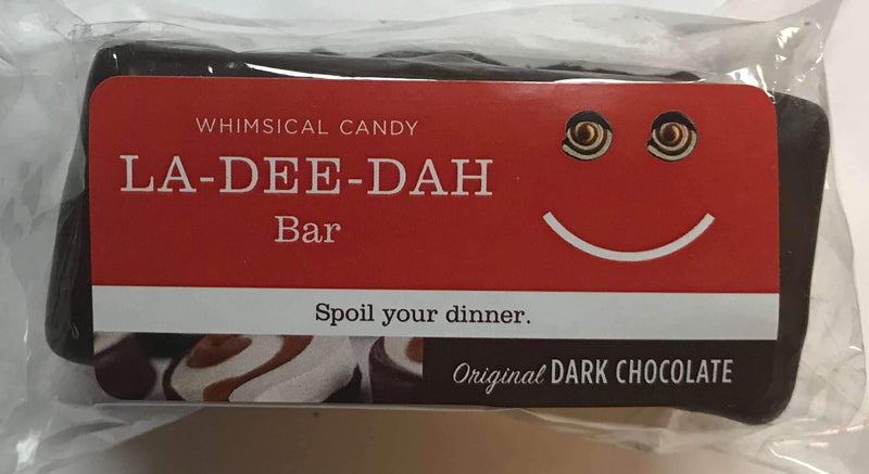 Whimsical Candy LA-DEE-DAH Bar | Dark Chocolate