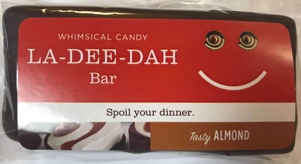 Whimsical Candy LA-DEE-DAH Bar | Tasty Almond