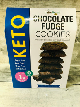 Too Good Gourmet | Keto Cookies ~ Chocolate Fudge
