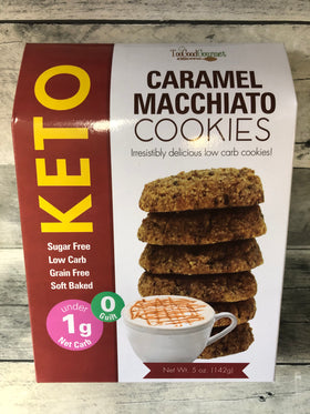 Too Good Gourmet | Keto Cookies ~ Caramel Macchiato