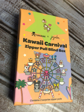 Ju-Ju-Be Kawaii Carnival 2.0 Zipper Pull - Blind Box (final sale)