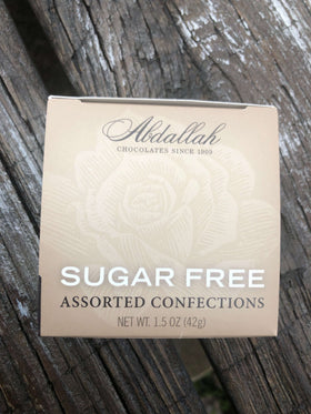 Abdallah Chocolate | Sugar Free~ Assorted Confections 4 pc