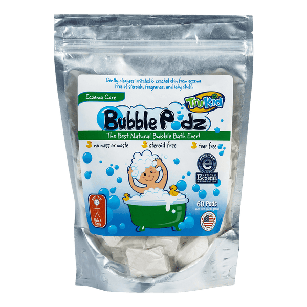 TruKid Bubble Podz | Eczema Care Bubble Bath Podz