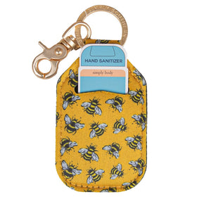 Simply Southern ~ Keychain Sanitizer Sleeve ~ Bee