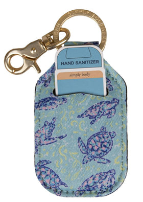Simply Southern ~ Keychain Sanitizer Sleeve ~ Turtle