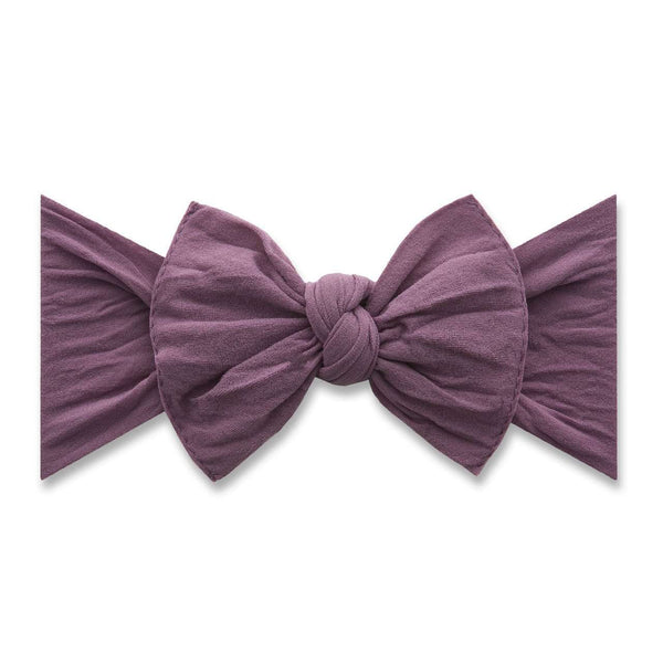Baby Bling Bows | Classic Knot Headband ~ Lilac