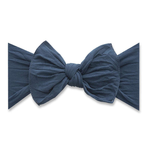 Baby Bling Bows | Classic Knot Headband ~ Slate