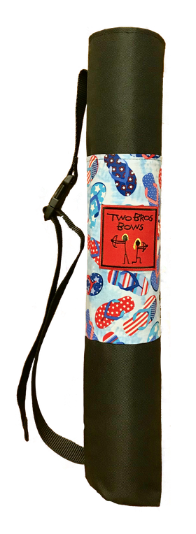 Two Bros Bows |  Quiver Bag ~ USA Flip Flop *LE*