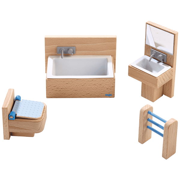 Haba ~ Dollhouse Furniture Bathroom