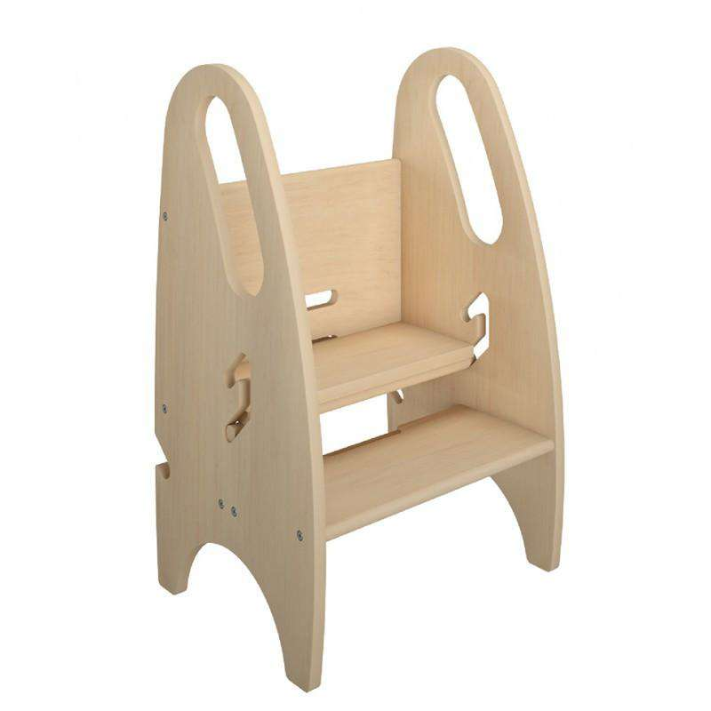 Little Partners 3-in-1 Growing Step Stool | Natural